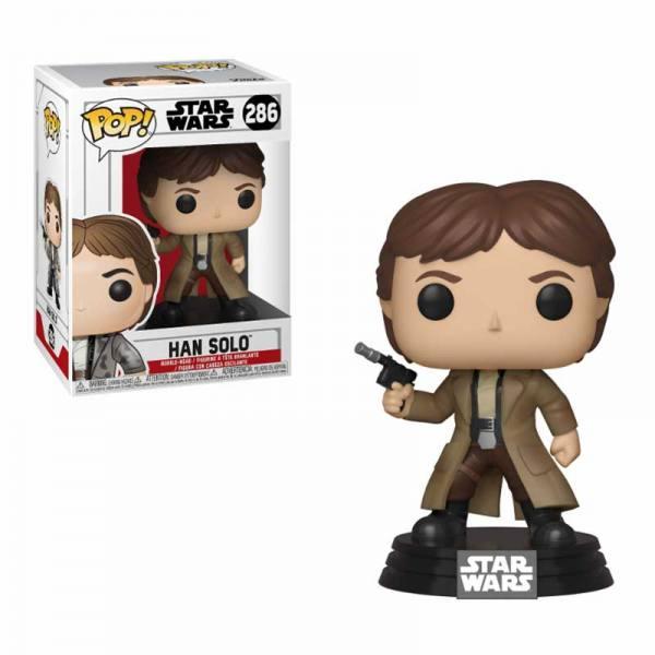 Figura Pop Star Wars Han Solo