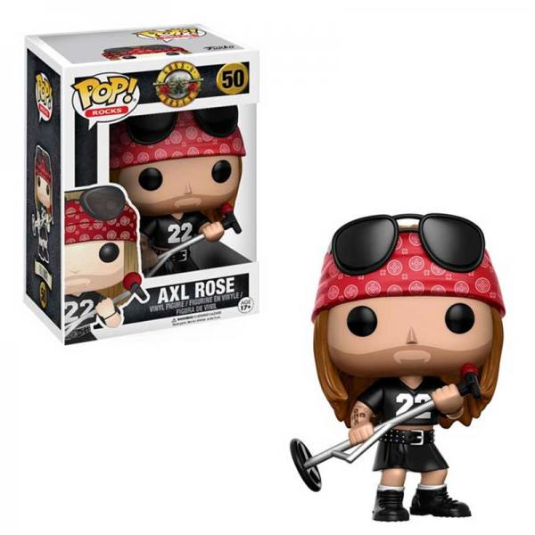 Figura Pop Guns N Roses Axl Rose