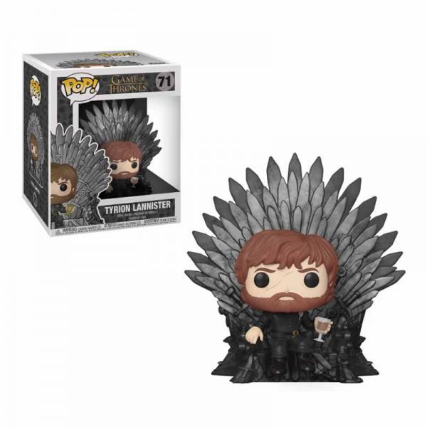 Figura Pop Game of Thrones Tyrion en el Trono de Hierro