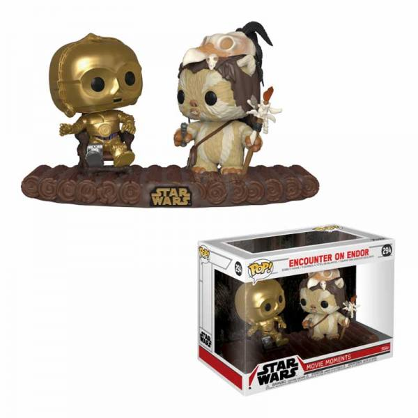 Figura Pop Movie Moments Star Wars Encuentro en Endor