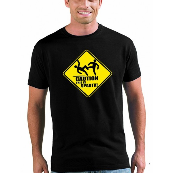 Camiseta 300 Caution This is sparta