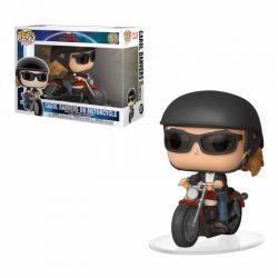 Funko Pop Captain Marvel Carol Danvers on Motorcycle