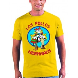 "Camiseta Breaking Bad ""los pollos hermanos"" - Marcaestilo"