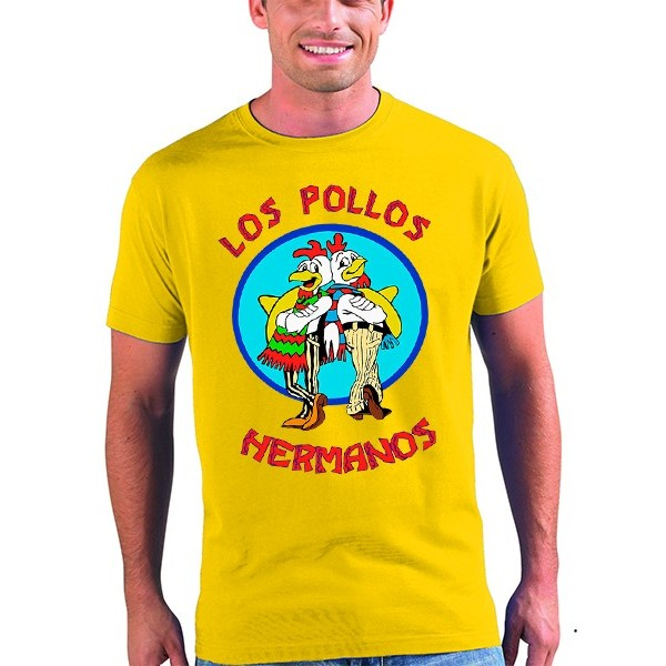 "Camiseta Breaking Bad ""los pollos hermanos"""