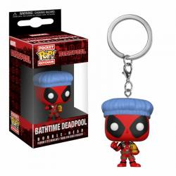 Llavero Funko Pocket Pop Deadpool Bathtime