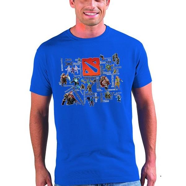 Camiseta Dota 2 diseño Dota Mega War