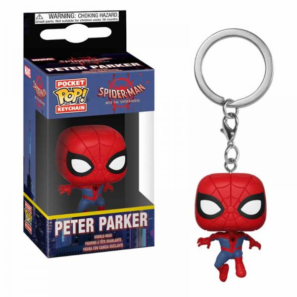 Llavero Funko Pop Spider-Man Peter Parker