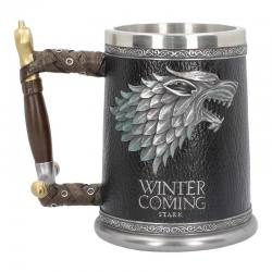 Jarra Juego de Tronos Winter is Coming Stark