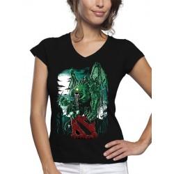 Camiseta Dota 2 Monstruo Fan-art de mujer
