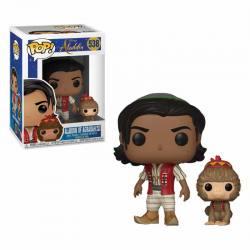 Figura Funko Pop Aladdin Of Agrabah With Abu
