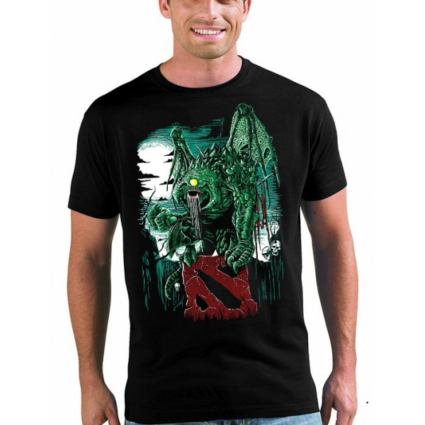 Camiseta Dota 2 Monstruo Fan-art