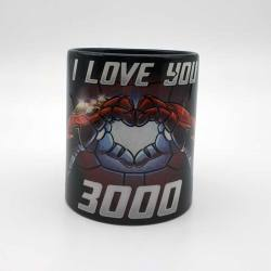Taza I Love You 3000 The Avengers Endgame