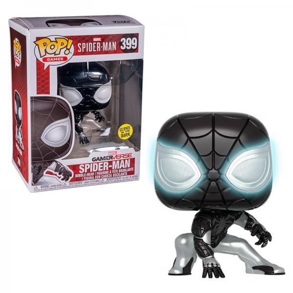 Funko Pop Marvel Gamerverse Spider-Man Negative-Exclusiva