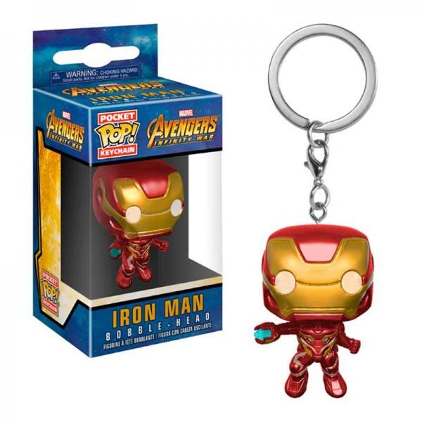 Llavero Funko Pop Iron Man Avengers Infinity War