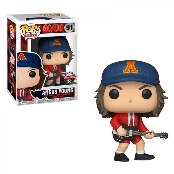 Funko Pop AC/DC Angus Young - Exclusivo