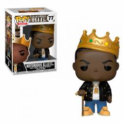 Funko Pop Notorious Big With Crown