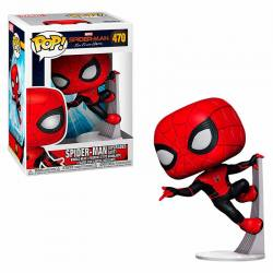 Funko Pop Spider-Man Far From Home Spider-Man Upgraded Suit