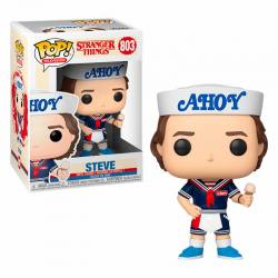 Funko Pop Stranger Things Steve Hat and Ice Cream