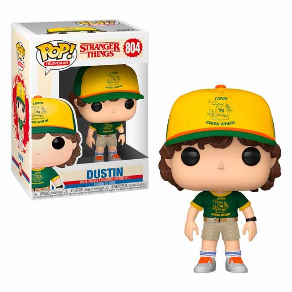 Funko Pop Stranger Things Dustin At Camp