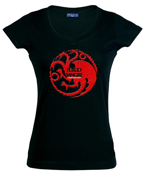 Mujer De Targaryenregalosde Tronos Juego Casa Camiseta dthrsCQ