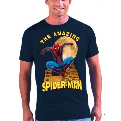 Camiseta Spiderman diseño Moon