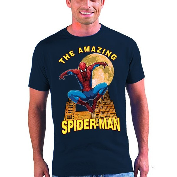 Camiseta Spiderman diseño Moon