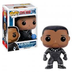 Funko Pop Black Panther Unmasked Capitan America Civil War