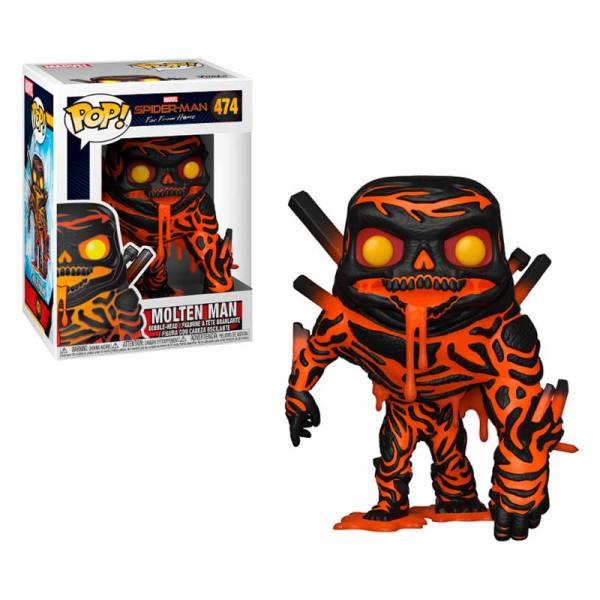 Funko Pop Spider-Man Far From Home Molten Man