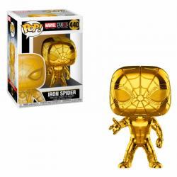 Funko Pop Iron Spider Dorado Marvel Studios 10