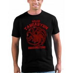 Camiseta Juego de Tronos Dragonstone casa Targaryen unisex
