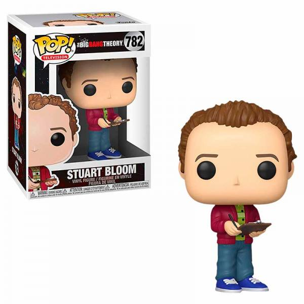Funko Pop The Big Bang Theory Stuart Bloom