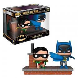Batman Funko Comic Moments Batman and Robin 80 Aniversario