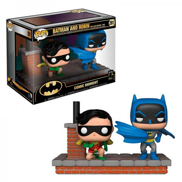 Batman Funko Comic Moments Batman and Robin 80 Aniversario