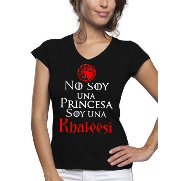 Camiseta mujer - Juego de Tronos soy una khaleesi