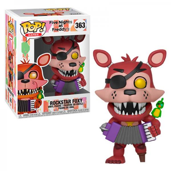 Pizza Sim POP Keychain: Five Nights At Freddy/'s Funko Rockstar Freddy New