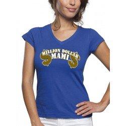 "Camiseta día de la madre diseño Million Dollar ""mami"" manga corta"