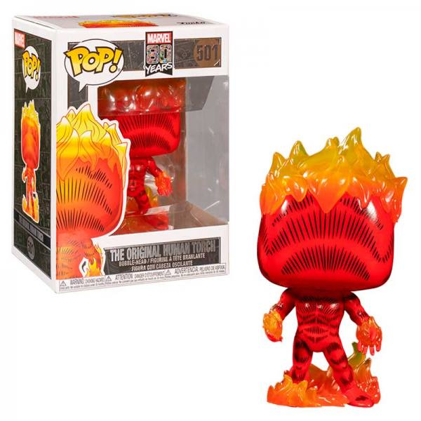 FUNKO POP Antorcha Humana - Jim Hammond Marvel 80th