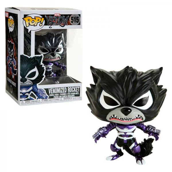 Funko POP MARVEL Venom ROCKET Venomizado