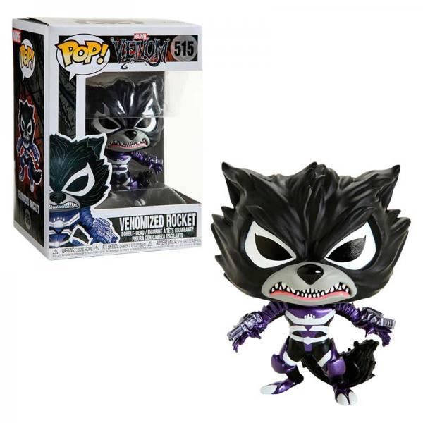 Funko POP MARVEL Venom ROCKET Venomizado