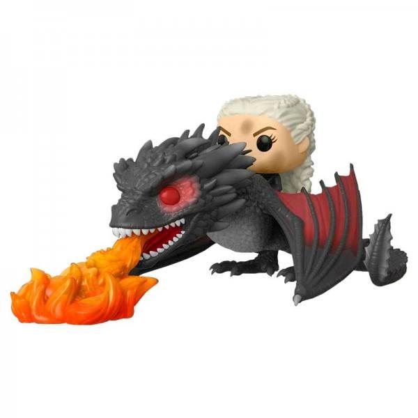 Funko Pop Game of Thrones Daenerys y Drogon Fuego