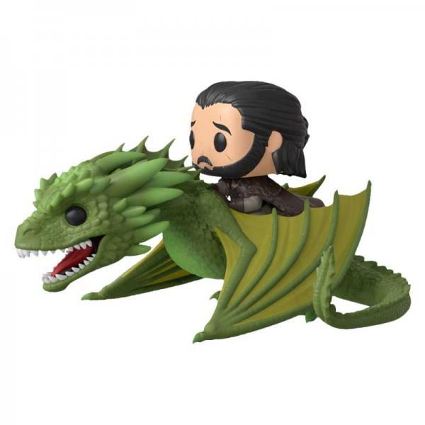 Funko Pop Game of Thrones Jon Snow y Rhaegal