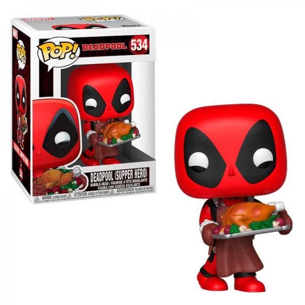 Funko Pop Deadpool con Pavo Navidad - Marvel 2019