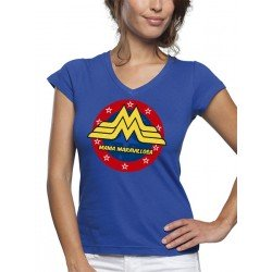 "Camiseta día de la madre ""Mamá Maravillosa"" manga corta"