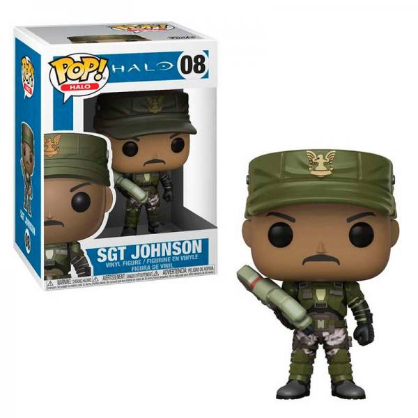 Funko Pop Halo Sargento Johnson