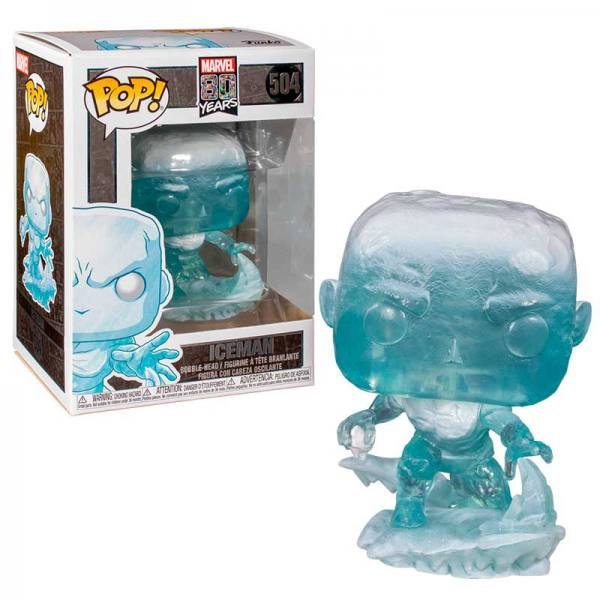 Funko Pop Marvel 80th Iceman Primera Apariencia X-Men
