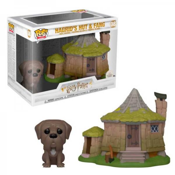Funko Pop Harry Potter Cabaña Hagrid con Fang