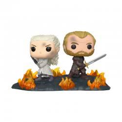 Funko Pop Movie Moments Daenerys con Jorah - Juego de Tronos