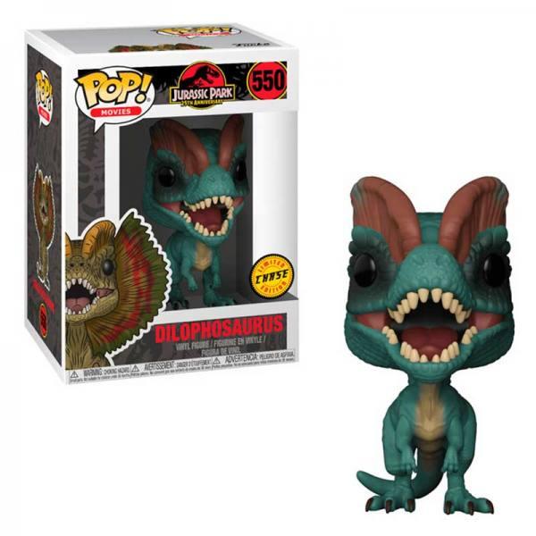 Funko Pop Jurassic Park Dilophosaurus Chase