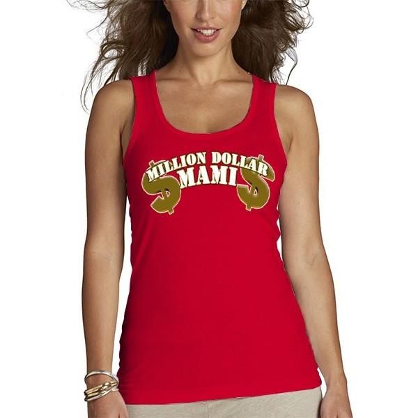 """Camiseta día de la madre diseño Million Dollar """"mami"""" tirantes"""