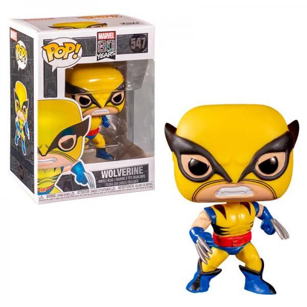 Funko Pop Wolverine Marvel 80 Years
